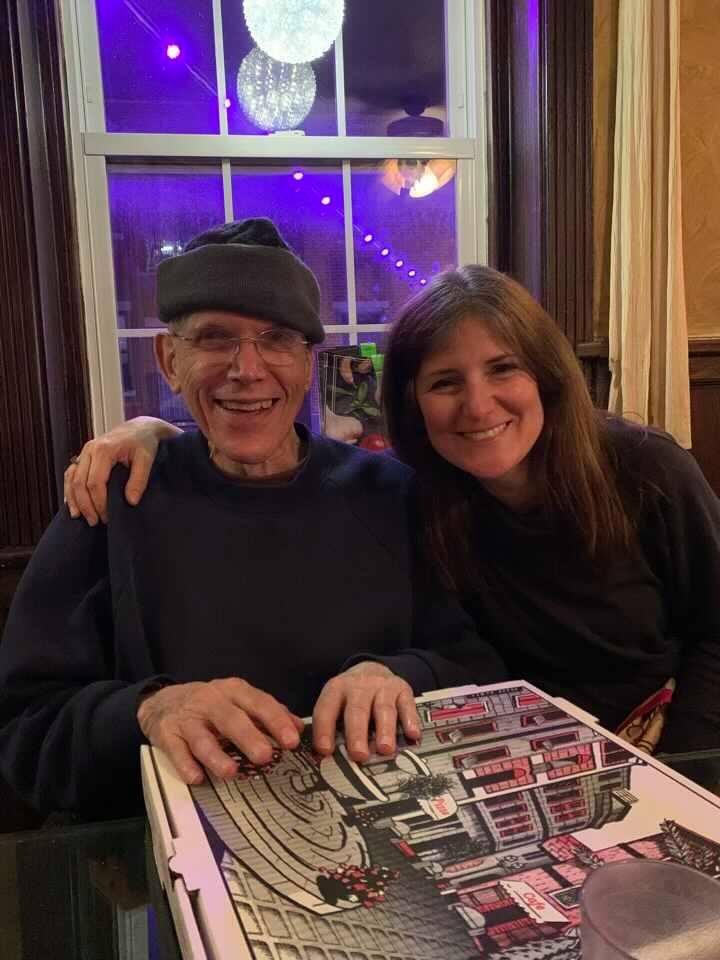 John and daughter Alena